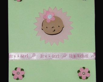 Baby Shower Party Invitation, Uniquely Designed and Individually Handcrafted, Item# Babshw-02-009