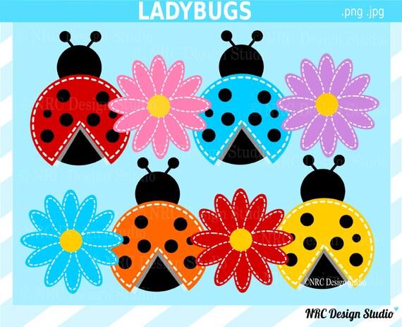 Ladybugs Clip Art Cute Bugs Clip Art Ladybugs by ...