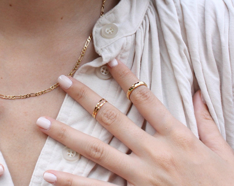 Midi Finger Rings via Fashion Gone Rogue