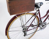 Vintage Swifts Corned Beef Upcycled Bicycle Crate - EleanorsNYC