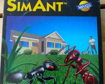 SALE 33% off: New in Box SimAnt by Maxis 1991 PC Game for IBM or Tandy