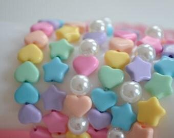 Fairy kei pastel kawaii bracelets