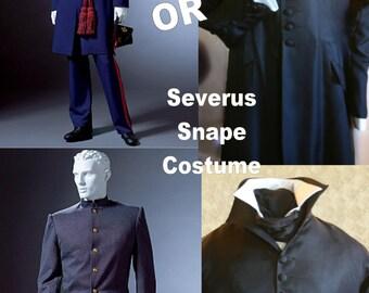 Professor Severus Snape Cosplay Harry Potter style Costume & Civil War Military Uniform SEWING Pattern, sizes S-L or XL-XXxl McCalls 4745