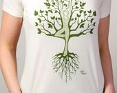 Grow Yoga Tree T Shirt
