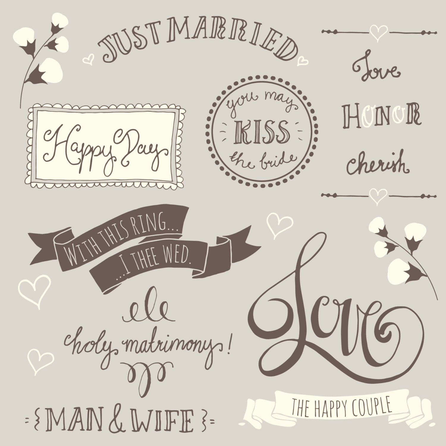 clip art wedding overlays photoshop 1 fully layered psd