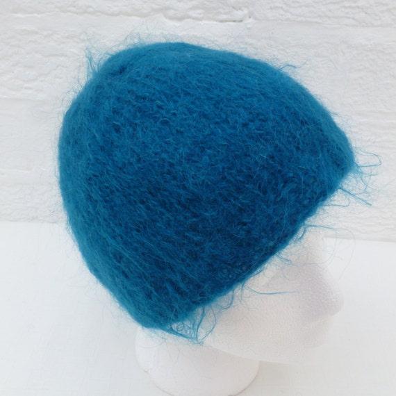 Knitting Pattern For Mohair Beanie : Beanie mohair hat teens wool beanie handmade hat small winter