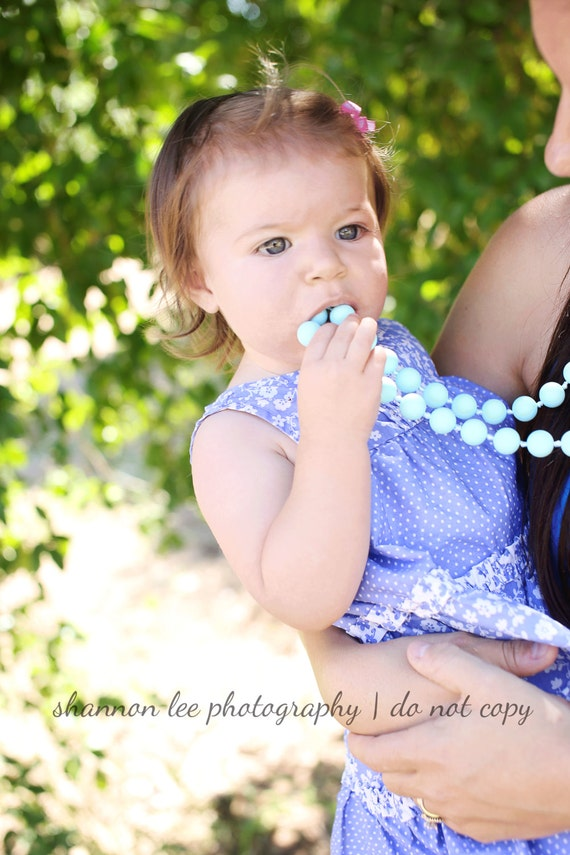 Items Similar To Sale New Style Chewable Teething Necklace