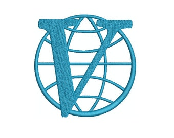 Machine Embroidery Design Instant Download - Venture Brothers Venture Industries Logo