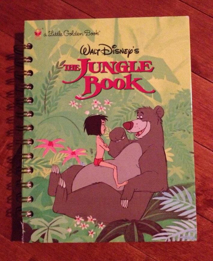 Disney The Jungle Book Repurposed Little Golden Book