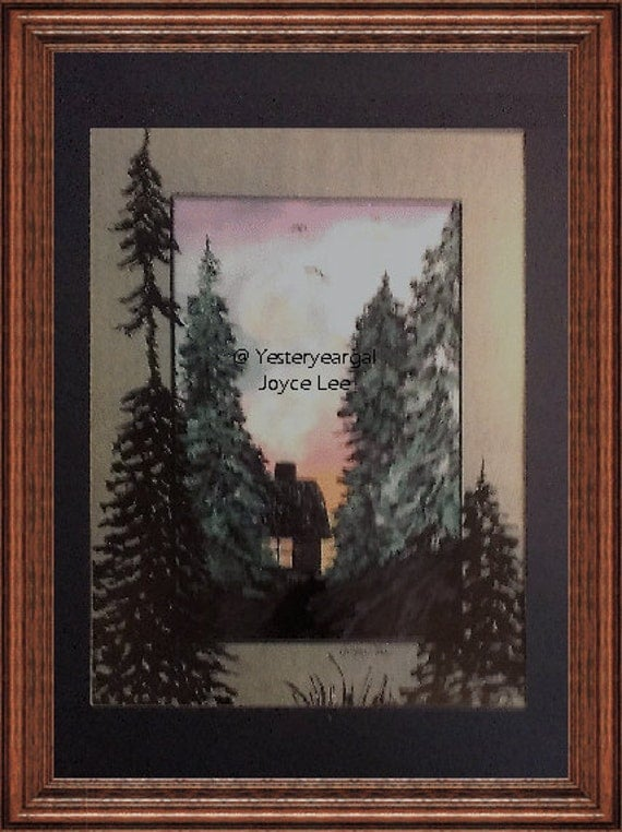 Joy Cometh In The Morning  11 X14 Matted Art Print