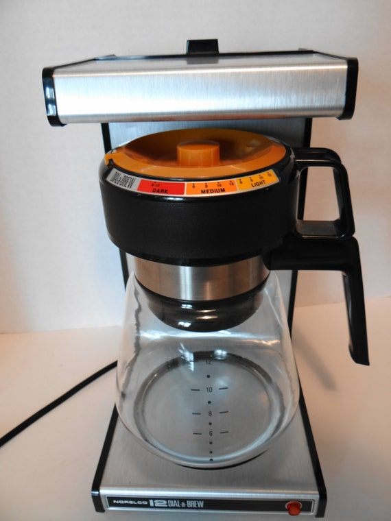 Vintage 70s-80s Electric Norelco 12 Cup Dial a by MyYourTreasure