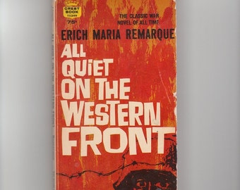 a thematic analysis of all quiet on the western front by erich maria remarque Erich maria remarque all quiet on the western revolutionary side-by-side summary and analysis all quiet on the western front chapter 11 summary.