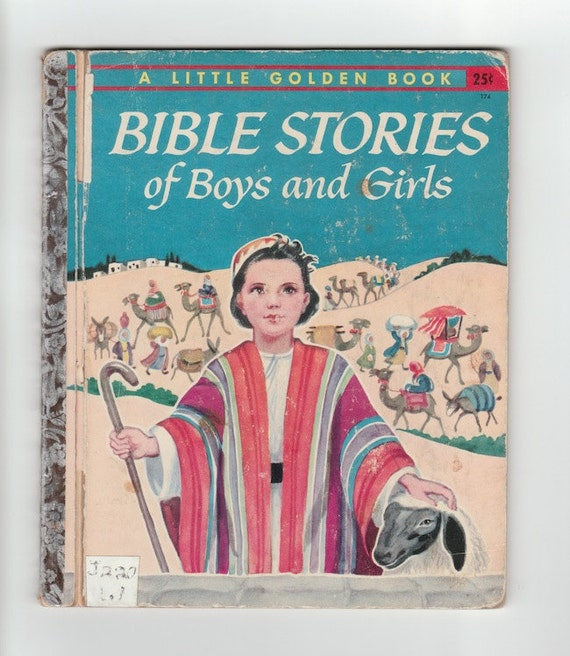 Story Of A Kashmiri S Girl By: 1950s Little Golden Book Bible Stories Of Boys And Girls