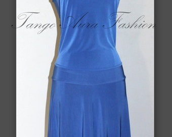 Tango dress from stretch fabric