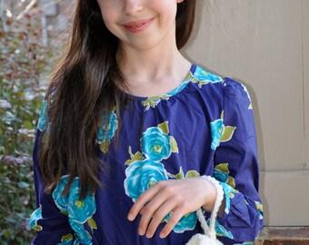 Girls Muff, Wedding, Flower Girl, Special Occassion, White, Crochet