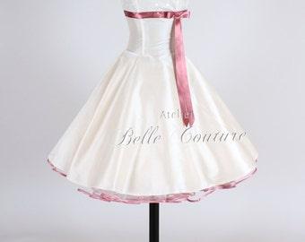 50s wedding dress item: Valerie pink