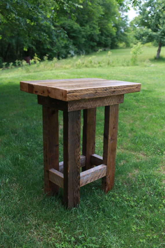 Barn Wood Pub Table