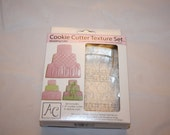 Wedding Cake Cookie Cutter Set