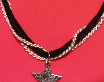 Star necklace and braclet