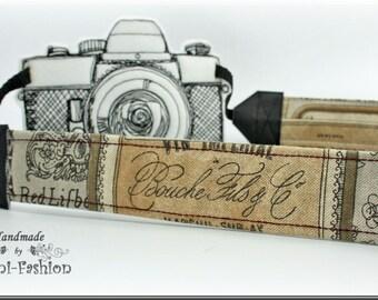 VINO - Camera strap, DSLR, camerastrap, brown, vintag, photography