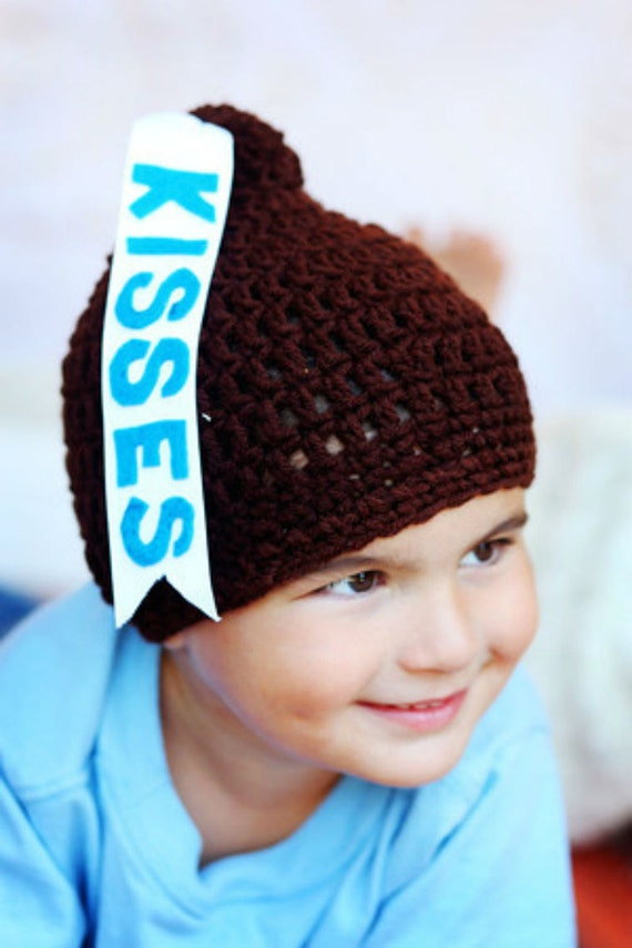 Crochet Baby Hershey Kiss Hat Pattern : Etsy - Your place to buy and sell all things handmade ...