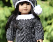 Knitted girl