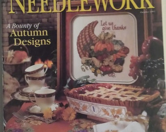 Needlework Cross Stitch . A Bounty of Autumn Designs