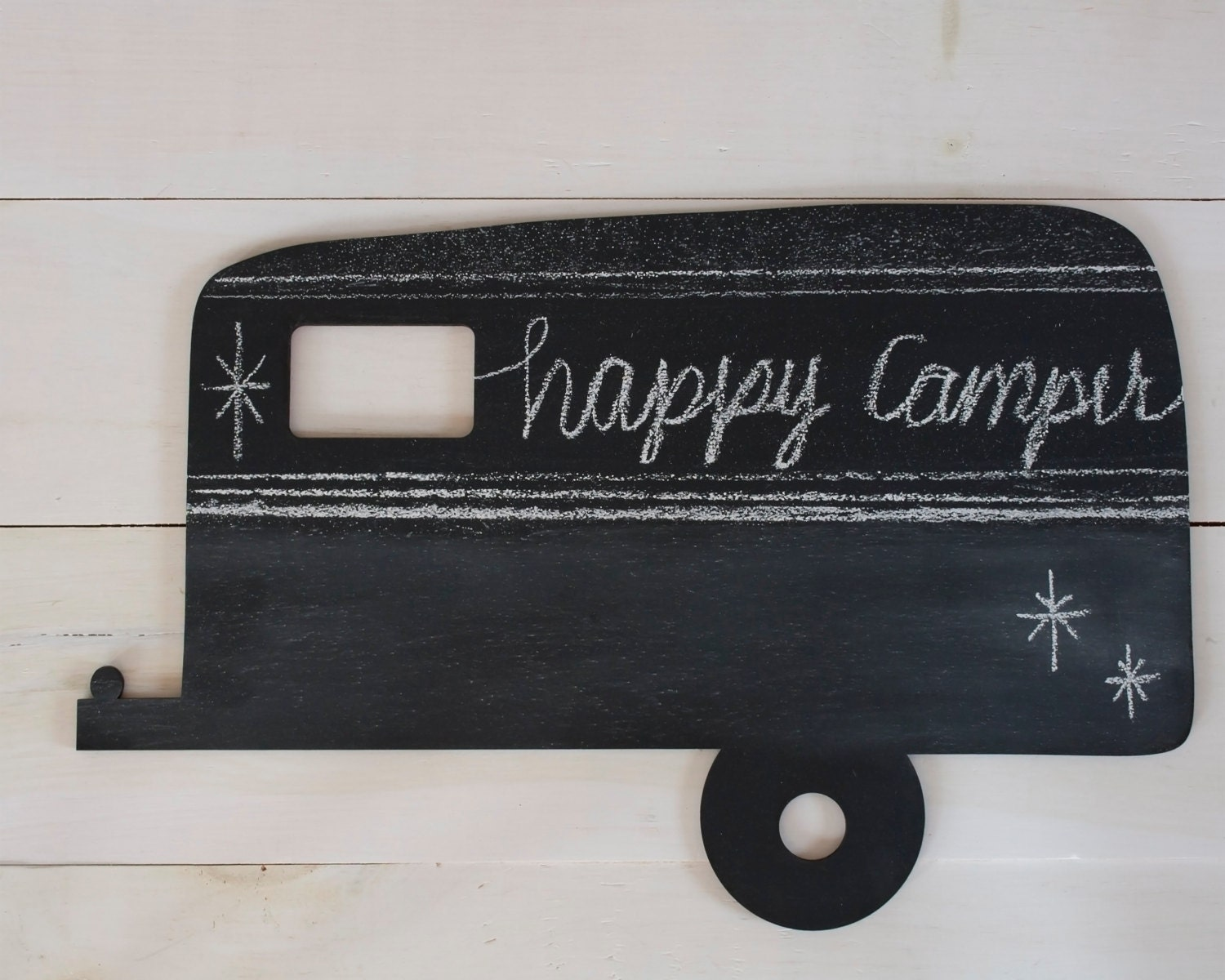 Vintage Camper Chalkboard Home Decor Christmas Gift Wall
