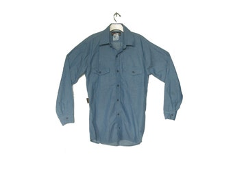 Men's Vintage Chambray Work Shirt
