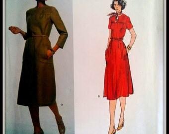 Vogue Designer Original   1531   Sybil Connolly  Misses' Dress  Size 12  Uncut