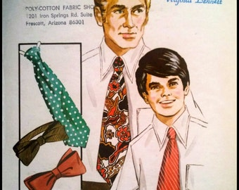 Kwik Sew Pattern  352 Tie Variations