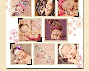 Collage & Blog Board, Storyboard Photoshop templates BL018