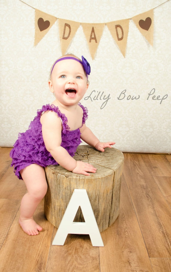 Purple Lace Petti Romper Baby Girl By Lillybowpeep On Etsy
