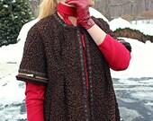 Vintage  brown Persian Lamb fur vest