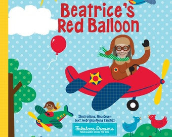 Personalized Book for kids - The Red Balloon Personalized Children Book - Gift for Kids, Personalized Gifts for Kids, Keepsake Book,