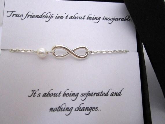 le meilleur ami cadeau de noël bracelet infini avec