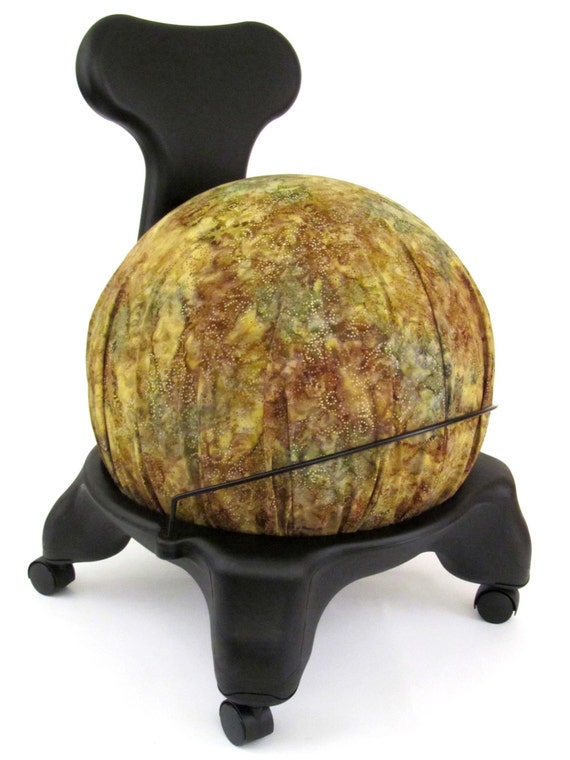 Fitball balance ball chair - Exercise Ball Chair Cover Fits Isokinetics Inc Gaiam