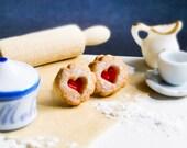 Marmeladenkeks Ohrstecker Miniaturfood