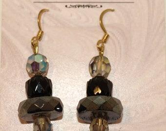"""Crystal Earrings """"Jacqui"""""""