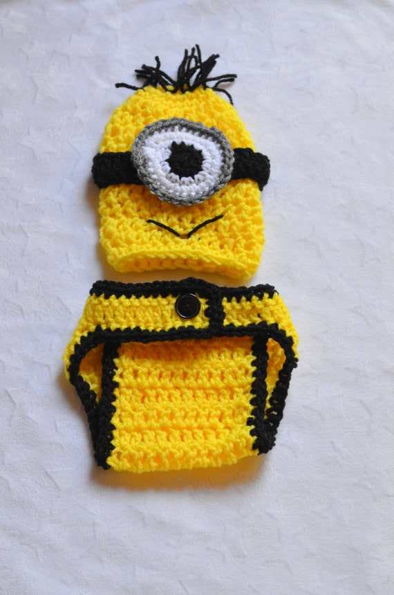 Baby Boy Gifts Halloween : Baby boy gift despicable me minion crochet by childishdreams