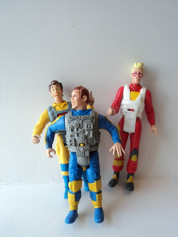 Best Ghostbuster Toys : Ghostbusters action figures screaming heroes toys set of