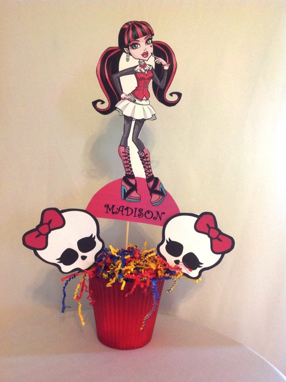 PRINTABLE- Monster High Party Centerpiece
