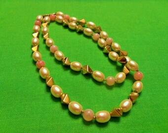 Vintage Napier Beaded Necklace (Item 900)