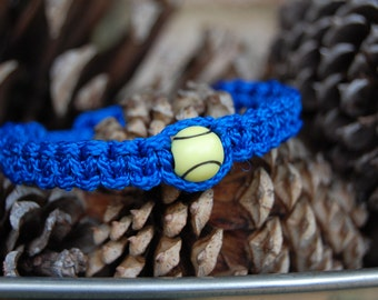 Royal Blue Trendy TENNIS Bracelet / Trendy TENNIS Mom / TENNIS / Tennis Team / Gift Exchange / Goody Bag / Sports Jewelry /
