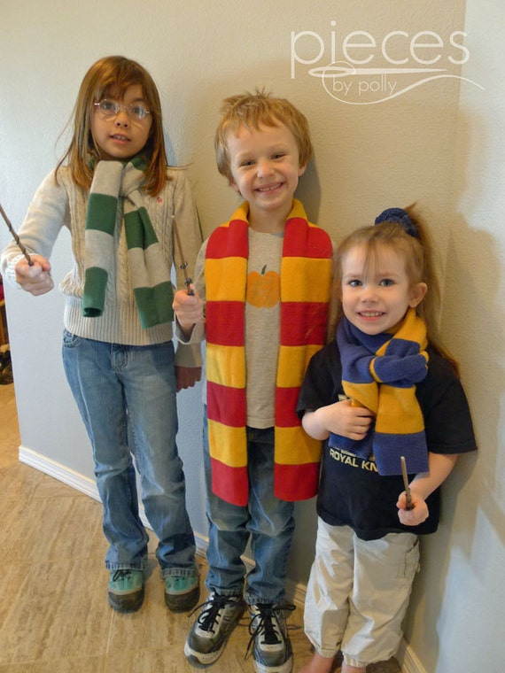 Hogwarts House Harry Potter Scarves