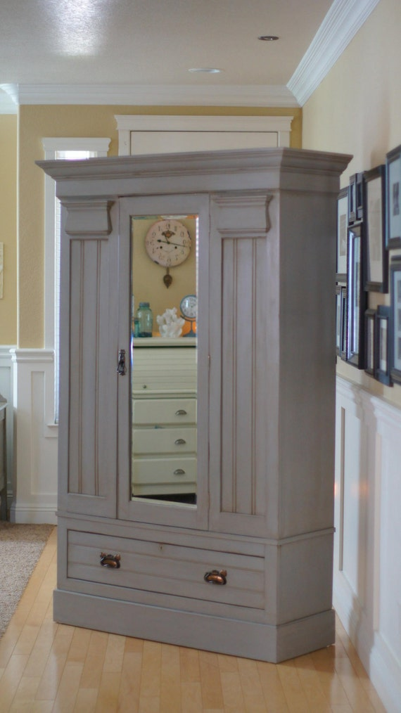 Items Similar To Sold The Dehlia Armoire Paris Grey
