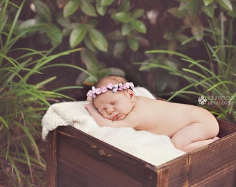 The Averi Jewel newborn Flower Halo