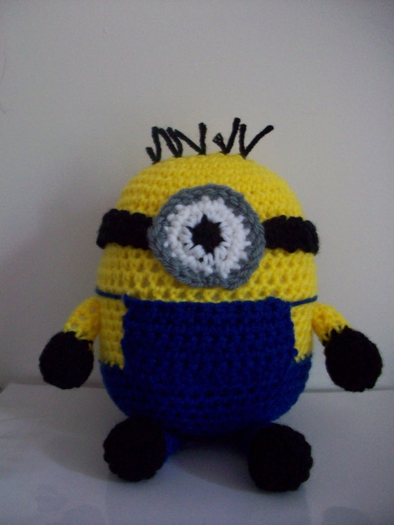 Amigurumi Minion Etsy : RESERVED Minion Inspired Amigurumi Set of by ...