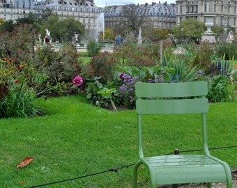 Paris Tuileries Garden - Photo Print