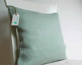Linen throw pillow cover 40x40cm